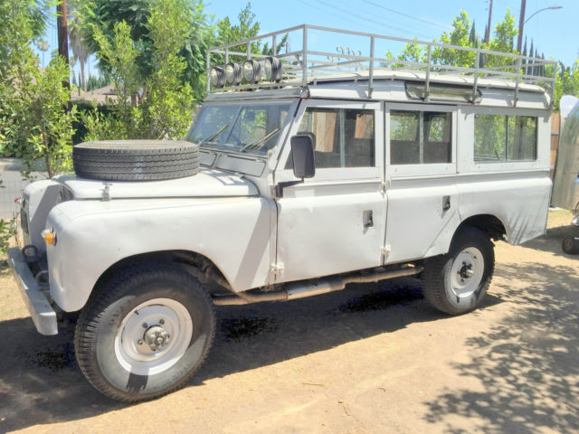 1967 land rover series 2a station wagon 109 v8 for sale photos technical specifications. Black Bedroom Furniture Sets. Home Design Ideas