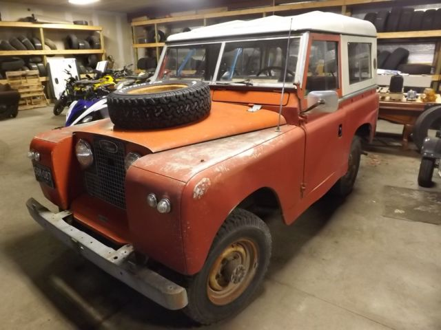 1967 Land Rover Range Rover Series II
