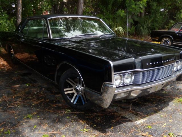 1967 Lincoln Continental 2 Door Hardtop Coupe For Sale
