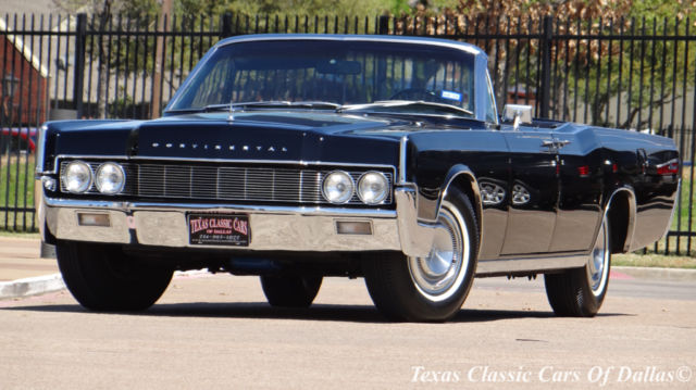 1967 Lincoln Continental 7.6L Convertible V8 Black Restored Suicide Doors Video & 1967 LINCOLN CONTINENTAL CONVERTIBLE SUICIDE DOORS RESTORED for ... Pezcame.Com