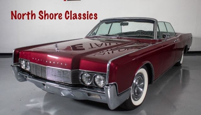 1967 Lincoln Continental CLEAN CONVERTIBLE SUICIDE CAR-SEE VIDEO