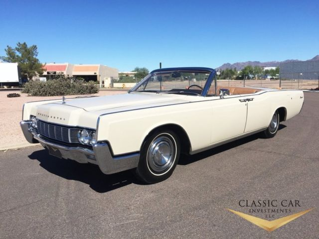 1967 Lincoln Continental Convertible