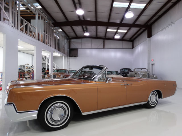1967 Lincoln Continental Convertible, RARE FACTORY AIR CONDITIONING!
