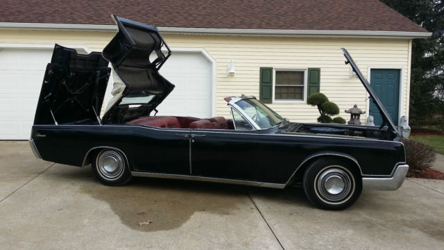 1967 Lincoln Continental Convertible Rare Garage Find One Owner