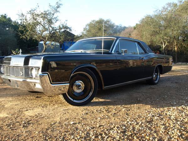 1967 Lincoln Continental Coupe 78k Original Miles Detroit Steel Wheels