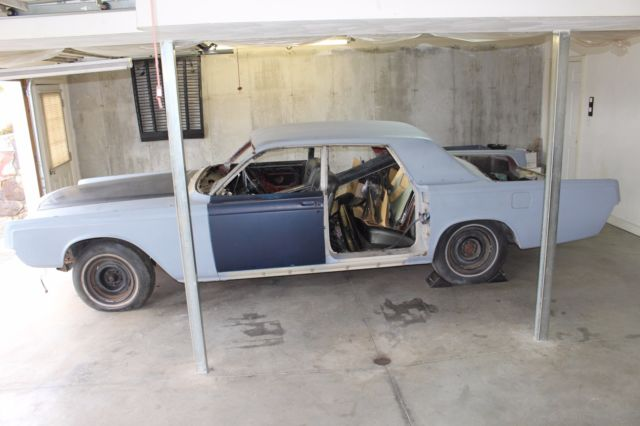 1967 Lincoln Continental Suicide 4 door sedan