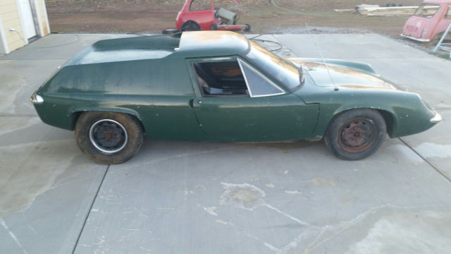 Worksheet. 1967 Lotus Europa S1a S1 type 46 47 project for sale photos