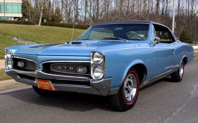 1967 Pontiac GTO Matching Numbers Factory 4-Speed with PHS Docs