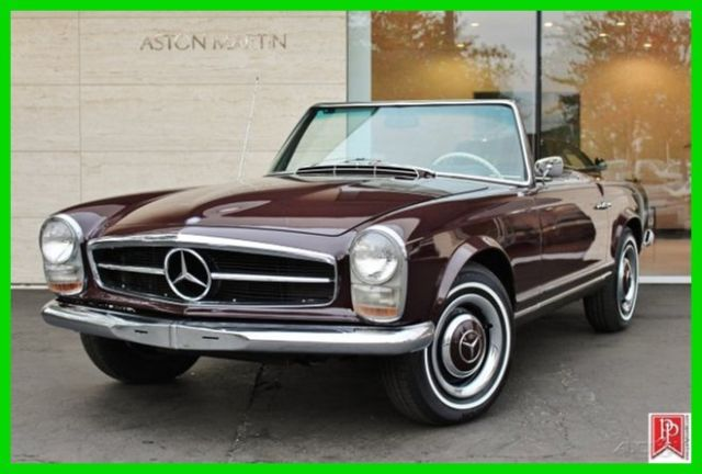 Mercedes Benz Bellevue >> 1967 Mercedes-Benz 230SL - Pagoda top classic roadster, 4-speed manual for sale: photos ...