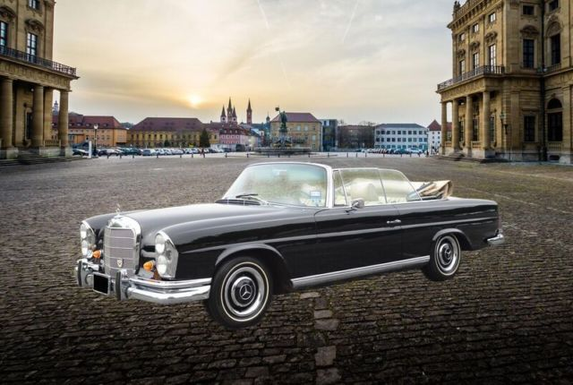 1967 Mercedes-Benz 250SE Convertible SEC