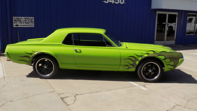 Mercury Cougar Hot Rod Muscle Car For Sale Photos Technical