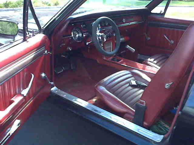 1967 Mercury Cougar Red Vinyl Interior For Sale Photos