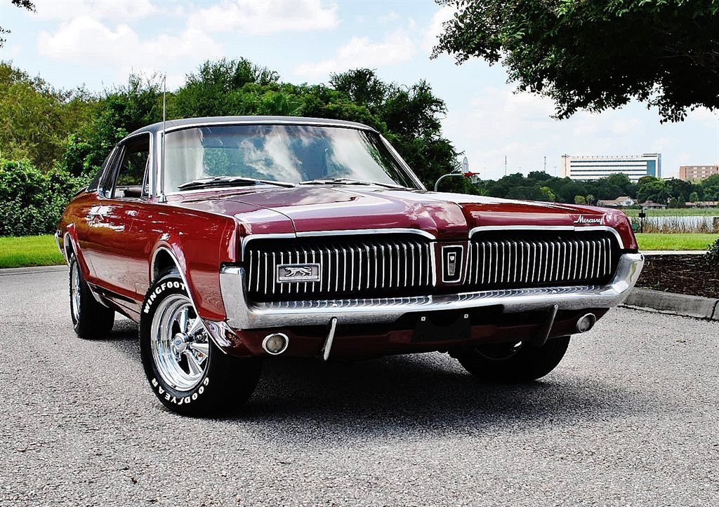 1967 Mercury Cougar XR-7 Factory A/C Super Clean!