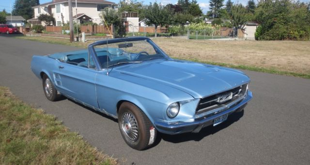 1967 Mustang 390 S Code Convertible for sale: photos, technical