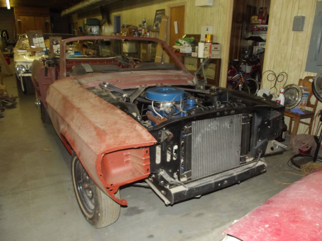 1967 Mustang Convertible Rare Options Color Barn Find Project Nos