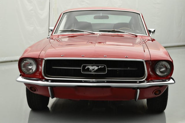 Red 1967 Fastback Mustang Sale