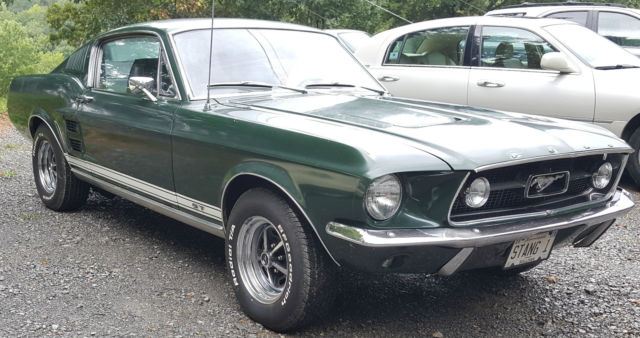 1967 Mustang Fastback A Code 289 4 Speed Dark Moss Green ...