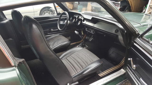 1967 mustang fastback a code 289 4 speed dark moss green with black interior for sale photos. Black Bedroom Furniture Sets. Home Design Ideas