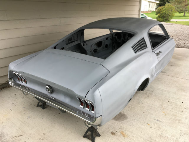 1967 mustang fastback body for sale photos technical specifications description. Black Bedroom Furniture Sets. Home Design Ideas
