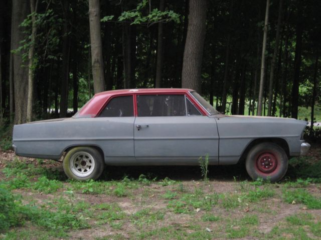 1967 Nova Chevy II Project Car for sale: photos, technical