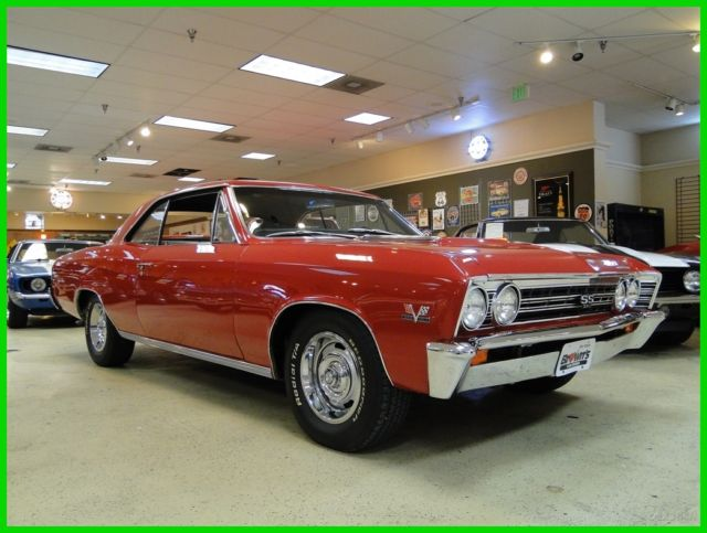 1967 Chevrolet Chevelle Numbers Matching SS396