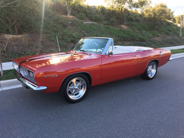 1967 Plymouth Barracuda Base