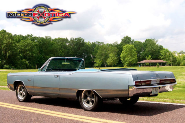 1967 Plymouth Fury 3 Convertible  Ac  Numbers Matching