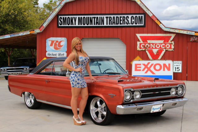1967 Plymouth Gtx Matching Numbers 440 Power Steering