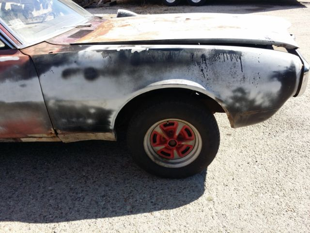 1967 pontiac firebird parts car barn find for sale: photos