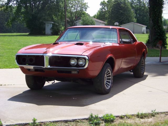 1967 Pontiac Firebird Base Coupe 2-Door