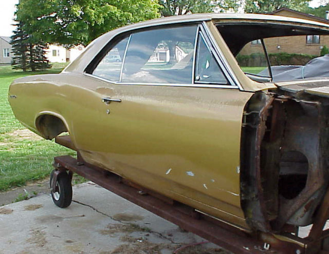 1967 pontiac gto coupe project good title and lemans parts body bill of sale for sale photos. Black Bedroom Furniture Sets. Home Design Ideas