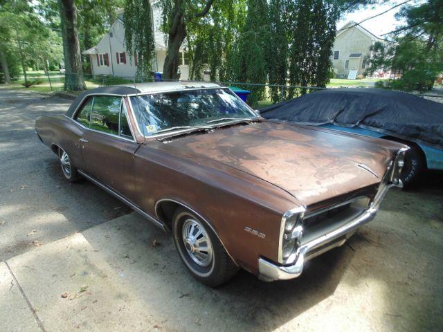 1967 pontiac le mans 326 v8 gto tempest for parts or. Black Bedroom Furniture Sets. Home Design Ideas
