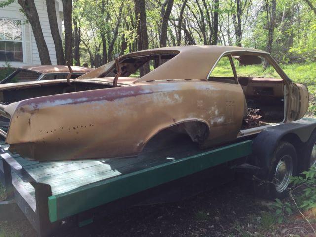 1967 Pontiac Lemans GTO parts car for sale: photos