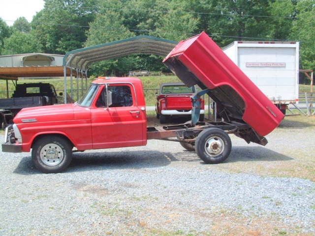 rare custom ford f250 dump bed pickup warren winch v8 4 speed trans - The Dump Mattress Sale