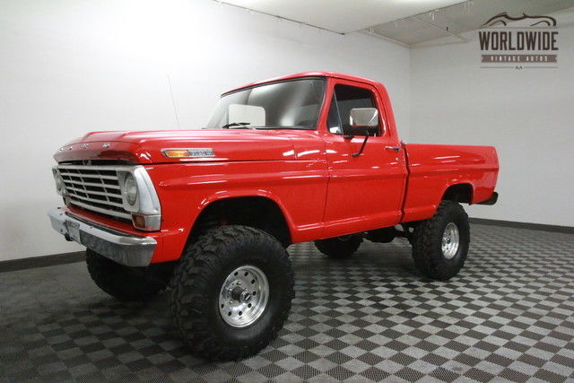 1967 Ford F100 Restored Shortbed 4x4. Show or Go!