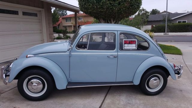 1967 restored vw beetle for sale photos technical specifications description. Black Bedroom Furniture Sets. Home Design Ideas
