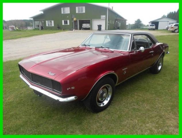 1967 Chevrolet Camaro RS-NEWER RESTORATION-NICE 1ST GENERATION