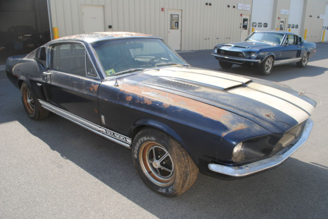 1967 shelby gt 500 original shelby mustang project needs restoration for sale photos technical. Black Bedroom Furniture Sets. Home Design Ideas