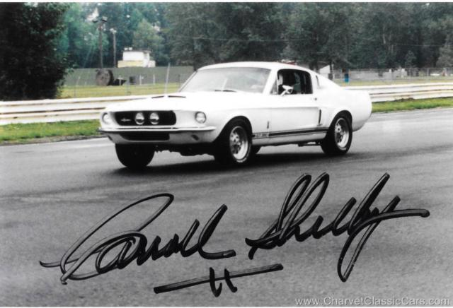 1967 Shelby GT350 #2004. RESTORED. Certified by Carroll Shelby.