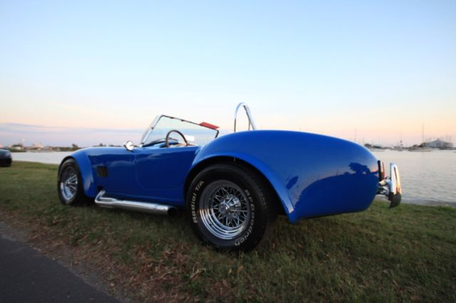 1967 Blue Shelby Cobra with Blue interior