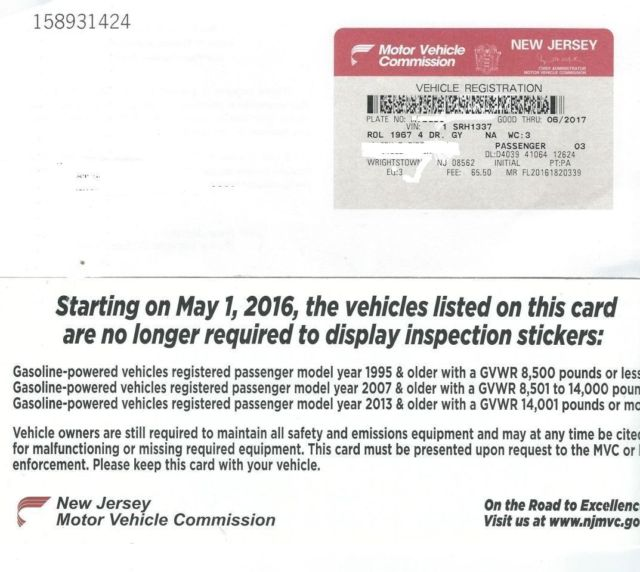 new jersey motor vehicle mission faqs driversed .