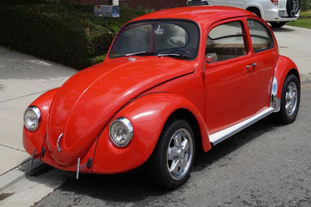 1967 Volkswagen Beetle Bug Classic Cal Look Restoration
