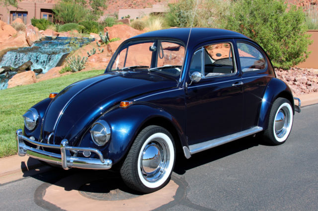 1967 VOLKSWAGEN BEETLE Classic BUG - Restored & Gorgeous! for sale ...