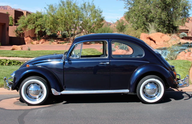 1967 volkswagen beetle classic bug restored amp gorgeous for sale
