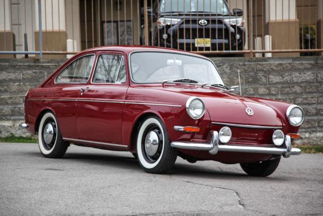 1967 Volkswagen Type 3 Fastback Pan-Off Restoration, Dual