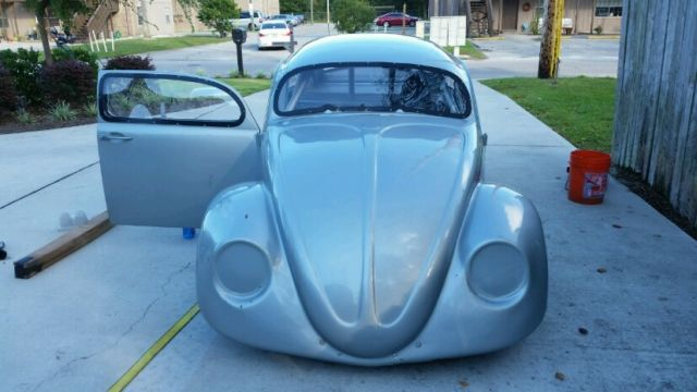 1967 Volkswagen VW Beetle Drag Race Car Roller Chassis w/ Transaxle NICE! for sale: photos ...