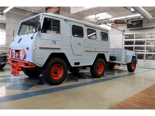 1967 Volvo L3314 Ht Laplander Rare Military Vehicle For Sale Photos