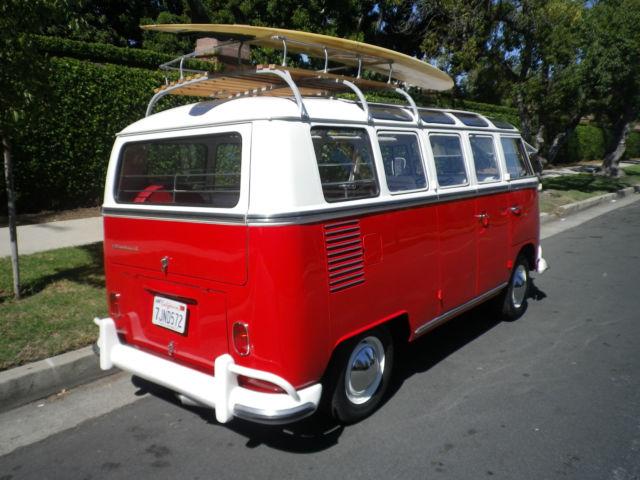 1967 vw bus rare 21 window walk thru samba bus rag top for sale photos technical. Black Bedroom Furniture Sets. Home Design Ideas