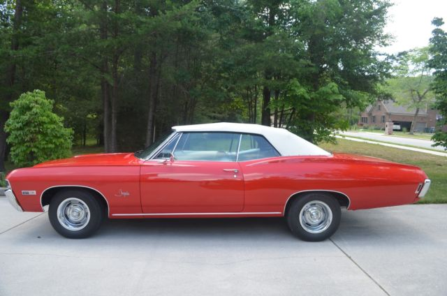 1968 Chevrolet Impala 2-door convertible