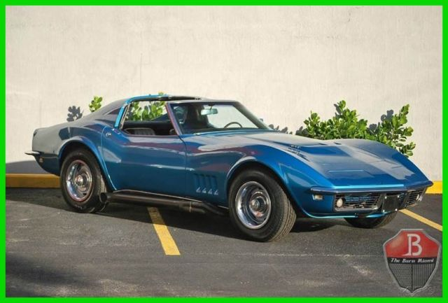 1968 Chevrolet Corvette FACTORY 427 WITH 4 SPEED MANUAL TRANSMISSION T-TOP